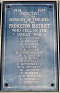 Image for Princeton Cenotaph - Princeton, BC