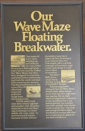 Image for Our Wave Maze Floating Breakwater