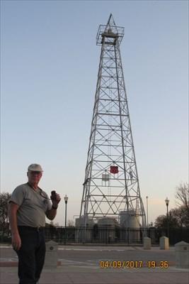 Waymark Code: WMPNPP, LAST Producing Oil Well on the State Capitol Grounds - Oklahoma City, OK - Last of its Kind on Waymarking.com