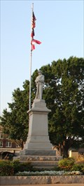 Image for Confederate Monument -- Llano TX