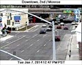 Image for Second Avenue at Monroe Street Webcam - Spokane, WA