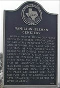 Image for Hamilton - Beeman Cemetery