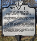 Image for First Africans In English America
