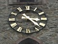 Image for Clock at the Bell Tower of the Parish Church St. Stephan, Effelsberg - NRW / Germany