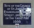 Image for St John the Evangelist Church - Cannon Street, London, UK