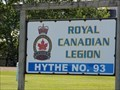 "Image for ""Royal Canadian Legion Branch 93"" - Hythe, Alberta"