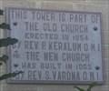 Image for Our Lady of Refuge Catholic Church Tower -- Roma TX