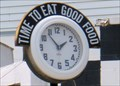Image for Steel Trolley Diner Clock  -  Lisbon, OH