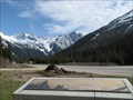 Image for Mount Rogers and Hermit Mountain Orientatin Table - Rogers Pass