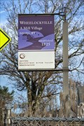 Image for Wheelockville A Mill Village - Uxbridge MA