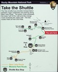 Image for You Are Here - Moraine Park Bus Stop - Rocky Mountains National Park