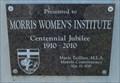 Image for Morris Women's Institute - 100 years - Morris MB