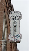 Image for IOOF Lodge Banner No. 67 - Priest River, ID
