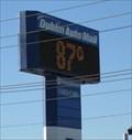 Image for Dublin Auto Mall Temperature Sign - Dublin, CA