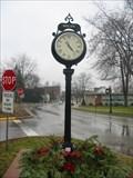 Image for Old Milan Fire Barn Town Clock, Milan, Mi.