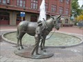 Image for Mule and Mule Driver - Cumberland, Maryland