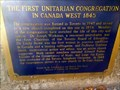 "Image for ""THE FIRST UNITARIAN CONGREGATION IN CANADA WEST 1845"