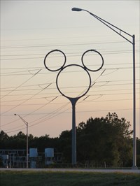Not so Hidden Mickey - Davenport - Florida.