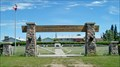 Image for North West Mounted Police Cemetery Arch - Battleford, Saskatchewan