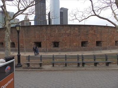 Last Fort Guarding Lower Manhattan - NYC