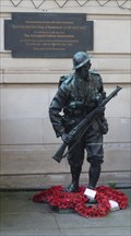 Image for 'Liverpool's 'Unknown Soldier' to be the site of a special remembrance service' - Liverpool, Merseyside, UK.