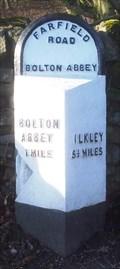 Image for Milestone - Bolton Bridge, Yorkshire, UK.