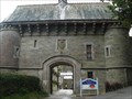 Image for Cut Benchmark on the gatehouse of Bodmin Prison, Cornwall