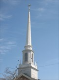 Image for First Baptist Church Steeple - Norwood, MA