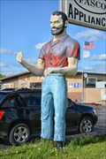 Image for Bunyan Muffler Man - Oshkosh WI