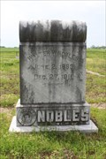 Image for Walter W. Nobles - Deport Cemetery - Deport, TX