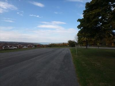 Cayuga Lake Overlook - Ithaca, NY - Scenic Roadside Look