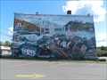 Image for La fresque murale au centre-ville de Lac-Etchemin,Qc