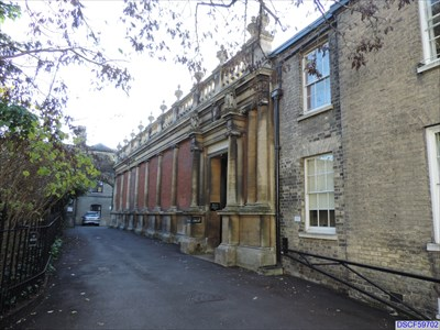 museum of archaeology peterhouse library little st mary 39 s lane cambridge uk architecture. Black Bedroom Furniture Sets. Home Design Ideas