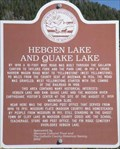 Image for Hebgen Lake and Quake Lake