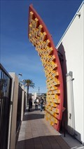 Image for Binion's Horseshoe Casino 'H' wall sign - Las Vegas, NV