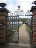 Image for Southern Garden Entrance, Tatton Park, Knutsford, Cheshire, England, UK