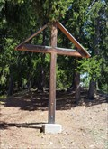 Image for Wooden Cross at the Road to Bellwald - Fürgangen, VS, Switzerland