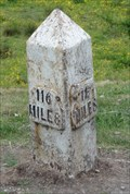 Image for Leeds Liverpool Canal milestone at Buck Hill – Shipley, UK