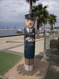 Image for Tram Conductress Bollard - Geelong Waterfront, Victoria, AU