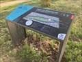 Image for Panneau des itinéraires pédestres et cyclables - Parc Honoré de Balzac - Tours, France