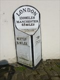 Image for Market Square Milestone - Ashbourne, Derbyshire, UK