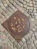 Image for Brønddæksel Sleipner - Odense, Danmark