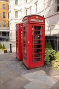 Image for Red Telephone Boxes - Grosvenor Crescent, London, UK