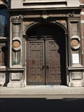 Image for Doorway of Voormalig provincieraadsgebouw in Hasselt - Limburg / Belgium