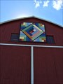 Image for Needles 'n Pins Barn Quilt, Richmond, WI