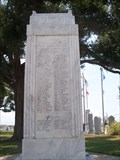 Image for World War I and World War II Monument, Biloxi, Mississippi