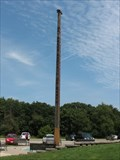 Image for World's Tallest Peace Pole -  Rockport Park Peace Park, Janesville, WI