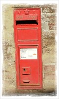 Image for Victorian Post Box - Griffin Hill, Chillenden, Kent UK