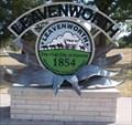 Image for Leavenworth Entry Sign - Leavenworth, Ks.