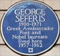 Image for George Seferis - Upper Brook Street, London, UK